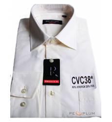 рубашка Brostem Однотонная рубашка с длинным рукавом Сорочка шампа