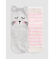 Комплект из 2 пар носков для девочек Комплект из 2 пар носков для девочек