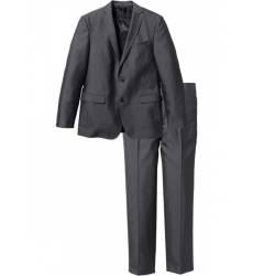 костюм bonprix Пиджак + брюки (2 изд.) Slim Fit, низкий + высокий