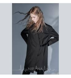 NIRVANA.MODA плащ/кимоно черный женский Kimono coat-black 36094371
