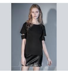 NIRVANA.MODA топ черный женский Cut top-black 36094374