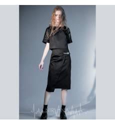 NIRVANA.MODA юбка-миди черная Midi skirt-black 36094375