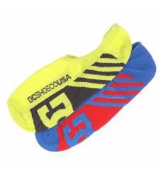 носки DC Shoes 2pk Sneakers Sole Socks