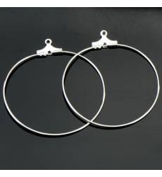 Кольца для серег 1 пара, арт. ФШВ-21 Кольца для серег 1 пара, арт. ФШВ-21