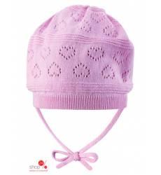 Шапка Reima для девочки, цвет розовый 37529286