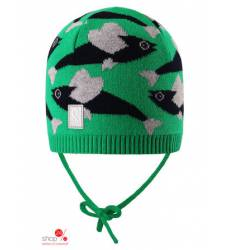 Шапка Reima для мальчика, цвет зеленый 37529469