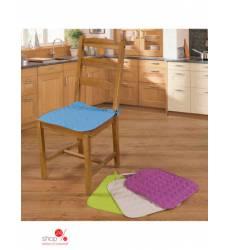 Чехол на стул с завязками Традиция Текстиля, цвет кремовый 38067911