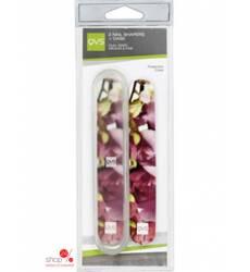 2 пилочки для ногтей в футляре QVS, цвет в ассортименте 38233115