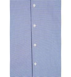 рубашка Etro Голубая рубашка в клетку