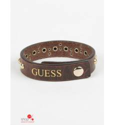 Браслет Guess, цвет коричневый 38798658