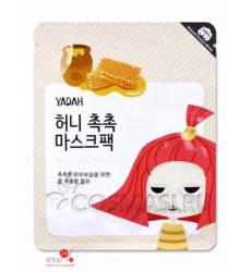 Маска тканевая увлажняющая с экстрактом меда, 25 г YADAH 38861292