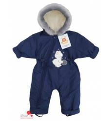 Комбинезон ДетиЗим для мальчика, цвет темно-синий 39041629