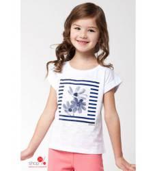 Футболка Vilatte для девочки, цвет белый 39084688