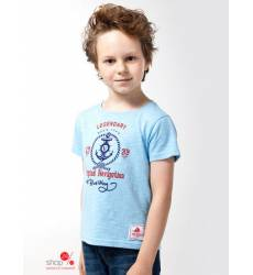 Футболка Vilatte для мальчика, цвет голубой 39084691