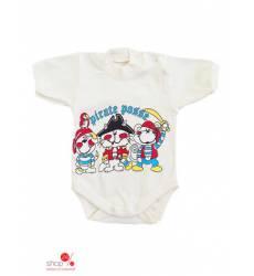 Боди Л-Текс детское, цвет молочный 39084746