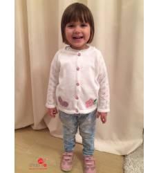 Кардиган Лютик для девочки, цвет белый 39085208