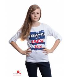 Футболка Million X для девочки, цвет белый 39085562