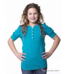 Футболка Million X для девочки, цвет бирюзовый 39085672