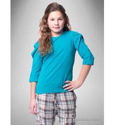 Топ Million X для девочки, цвет бирюзовый 39085673