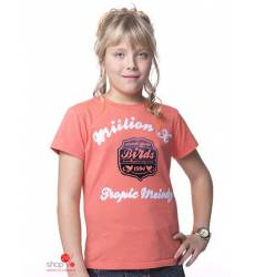Футболка Million X для девочки, цвет розовый 39085675