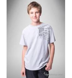 Футболка Million X для мальчика, цвет светло-серый 39085683