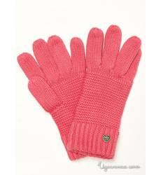Перчатки Tommy Hilfiger, цвет розовый 39085788