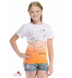 Футболка Million X для девочки, цвет оранжевый 39085933