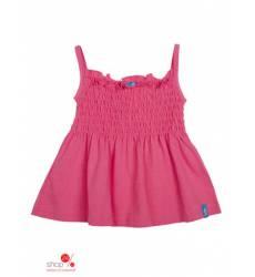 Топ Button Blue для девочки, цвет малиновый 39086042