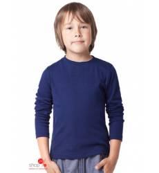 Лонгслив Vilatte для мальчика, цвет темно-синий 39086215