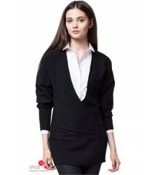 Джемпер Vilatte, цвет черный 39614785