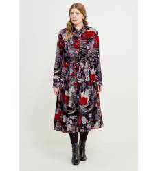 миди-платье Авантюра Plus Size Fashion Платье