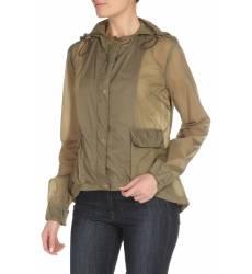 ветровка C`N`C` COSTUME NATIONAL Ветровка с накладными карманами и капюшоном