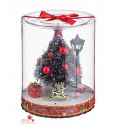 Украшение новогоднее ЕЛОЧКА С ПОДСВЕТКОЙ, высота 16,5 см Вераиль 40788578