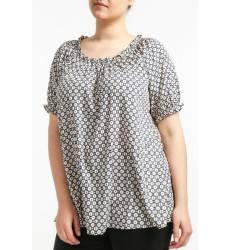 блузка ZIZZI Блузы в горошек
