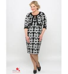 Платье Зар-А-стиль, цвет серый 41441400