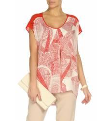 блузка DKNY Блузы с коротким рукавом