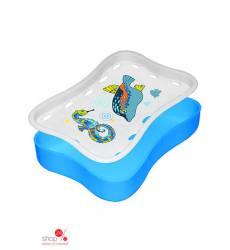 Мыльница-подставка Мультидом, цвет голубой 42034914