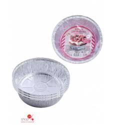 Набор одноразовых форм для запекания, диаметр 17 см, 770 мл Мультидом, цвет в ассортименте 42070806