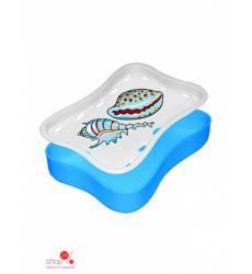 Мыльница-подставка Мультидом, цвет голубой 42070994