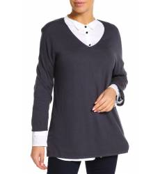 пуловер UNQ Джемперы, свитера и пуловеры с вырезом