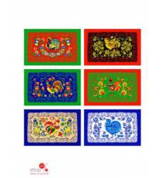 Полотенце, 46х28 см Мультидом, цвет в ассортименте 42123115