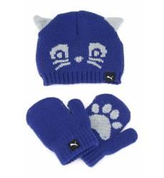 Набор: Шапка и перчатки Puma Набор: Шапка и перчатки