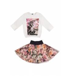 Комплект: джемпер, юбка Апрель Комплект: джемпер, юбка