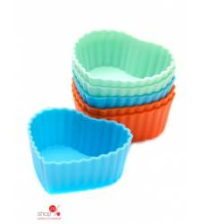 Форма для панкейков, 25 мл 6 предметов Mayer&Boch, цвет синий, мята, оранжевый 42159472
