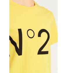 Желтая футболка с логотипом Желтая футболка с логотипом