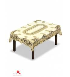 Скатерть, 130*180 см HAFT, цвет кремовый, золотой 42266851