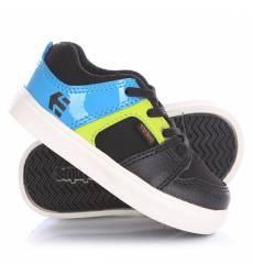 Кеды кроссовки низкие детские Etnies Rockfield Black/Blue Rockfield