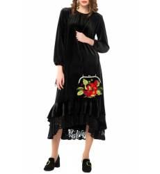 платье Yukostyle Платья и сарафаны с воланами и баской