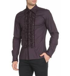 рубашка John Richmond Полуприлегающая рубашка с металлическим декором