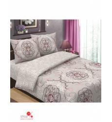Комплект постельного белья, 1,5-спальный Традиция Текстиля, цвет бежевый 42686192